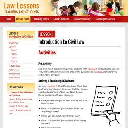 LawLessons.ca