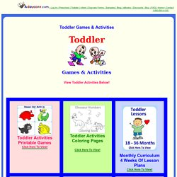 Toddler Games, Toddler Activities, Printable Pages, Learning Activities, Fun Daily Activities