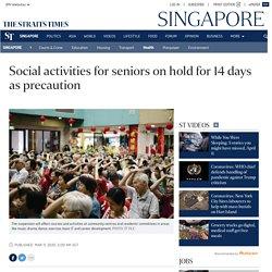Social activities for seniors on hold for 14 days as precaution, Health News