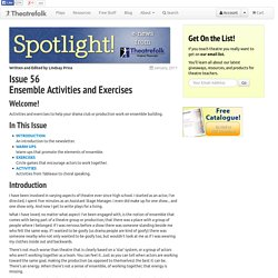 Ensemble Activities and Exercises