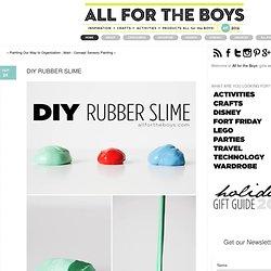 DIY RubberSlime