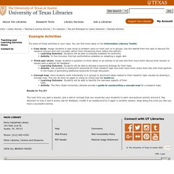 University of Texas at Austin Libraries