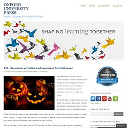 EFL classroom activities and resources for Halloween