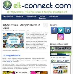 10 Activities - Using Pictures in Zoom!