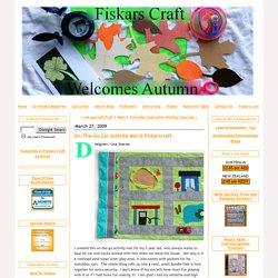 On-The-Go Car Activity Mat @ Fiskarscraft - Fiskars Craft