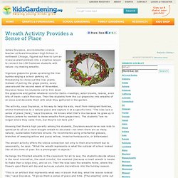 Wreath Activity Provides a Sense of Place