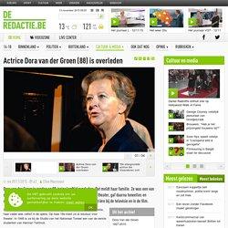 Actrice Dora van der Groen (88) is overleden