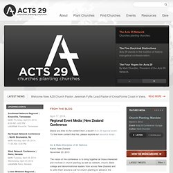 Acts 29 Network: Seattle, WA > Homepage