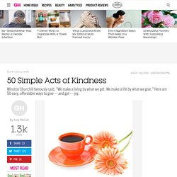 Acts of Kindness - Random Acts of Kindness Ideas