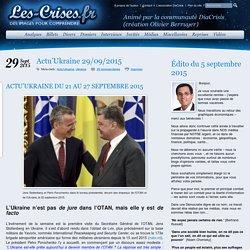 » Actu'Ukraine 29/09/2015