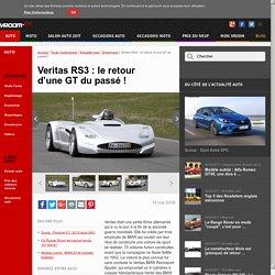Actu - Veritas RS3 : le retour d'une GT du passé !