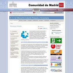 Actuaciones - Educación Primaria - 05. Promoción y educación para de la salud