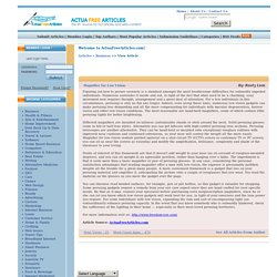 Magnifier for Low Vision ActuaFreeArticles.com free content free articles for web sites opt-in newsletters e-zines