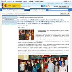 Prensa > Actualidad del Ministerio > > Concurso