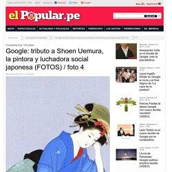 Google: tributo a Shoen Uemura, la pintora y luchadora social japonesa (FOTOS)