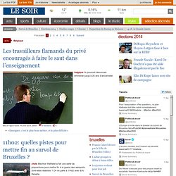 LeSoir - Analyse