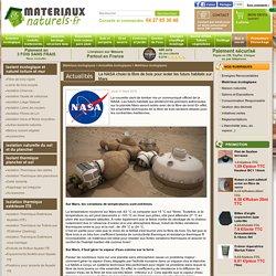 Actualité : La NASA choisi la fibre de bois pour isoler les futurs habitats sur Mars