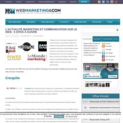 L'actualité marketing et communication sur le web : 6 sites à suivre