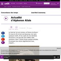 Actualité d'Alphonse Allais