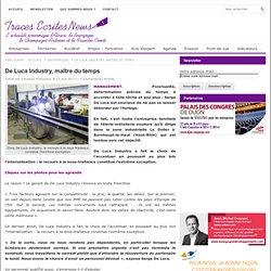 ARTICLE De Luca Industry, maître du temps