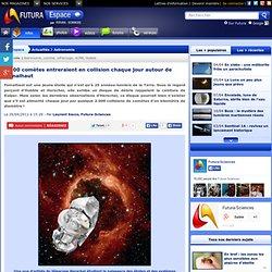 2.000 comètes entreraient en collision chaque jour autour de Fomalhaut