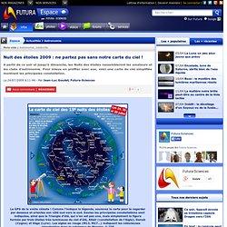 Nuit des étoiles 2009 : ne partez pas sans notre carte du ciel !