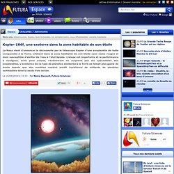 Kepler-186f, une exoterre dans la zone habitable de son étoile