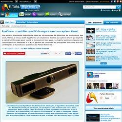 EyeCharm : contrôler son PC du regard avec un capteur Kinect