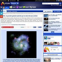 BX442, la grande galaxie spirale qui ne devrait pas exister