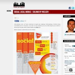 Social Local Mobile : SoLoMo by Nielsen | L'actualité de la Publicité GéoLocalisée
