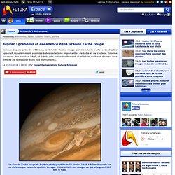Jupiter : grandeur et décadence de la Grande Tache rouge
