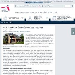 ANAH - Habiter Mieux évalué dans les Yvelines - 20/09/16