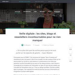 Veille sur l'actualité digitale : les sites incontournables