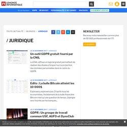 Toute l'Actualité Juridique du Monde Informatique