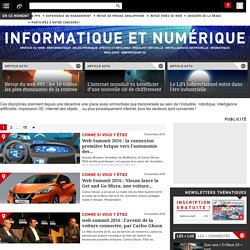 Actualité Informatique et Numérique