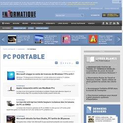 Toute l'Actualité PC portable du Monde Informatique