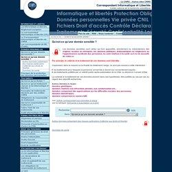 Qu'est-ce qu'une donnée sensible? - Fil d'actualité du Service Informatique et libertés du CNRS