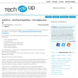 L'actualité de la web innovation | Tech Me Up