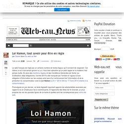 Loi Hamon, tout savoir pour être en règle