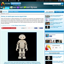 Jimmy, le robot open source signé Intel