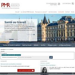 Actualité juridique, avocat Paris 17 - Actualité droit social, travail