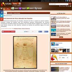 Quand Léonard de Vinci décode les fossiles