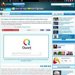 Le moteur de recherche Qwant s'offre une grande mise à jour