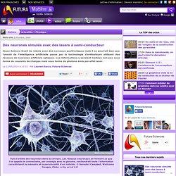 Des neurones simulés avec des lasers à semi-conducteur