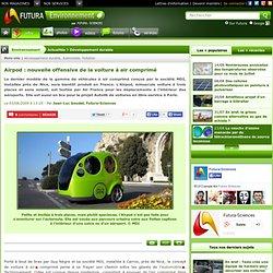 Airpod : nouvelle offensive de la voiture à air comprimé