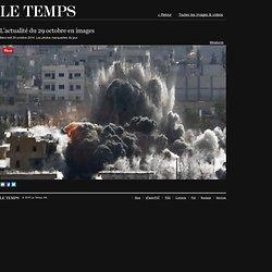 L'actualité du 29octobre en images - LeTemps.ch