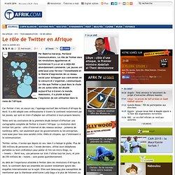 Le rôle de Twitter en Afrique