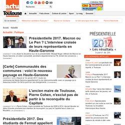 Actualité - Politique « Catégorie « Côté Toulouse