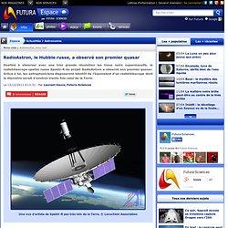 RadioAstron, le Hubble russe, a observé son premier quasar
