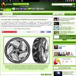 Un pneu pour recharger la batterie de sa voiture électrique ?